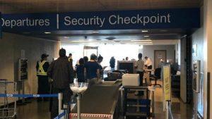 Sigurnosni pregled na zračnoj luci